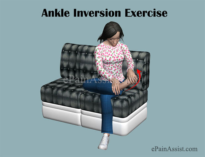 Ankle Inversion Exercise for Ankle Impingement