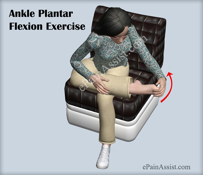 Ankle Plantar Flexion Exercise to Help Recover From Footballer's Ankle Injury
