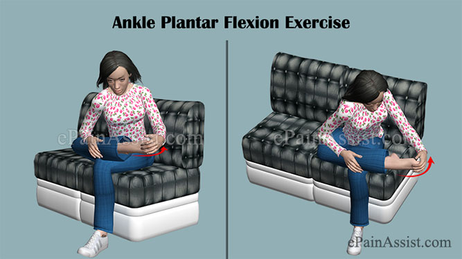 Ankle Plantar Flexion Exercise for Ankle Impingement