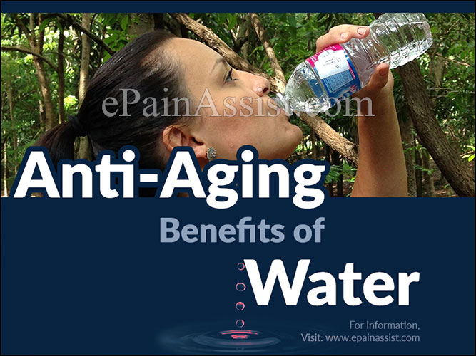 Anti- Aging Benefits of Water