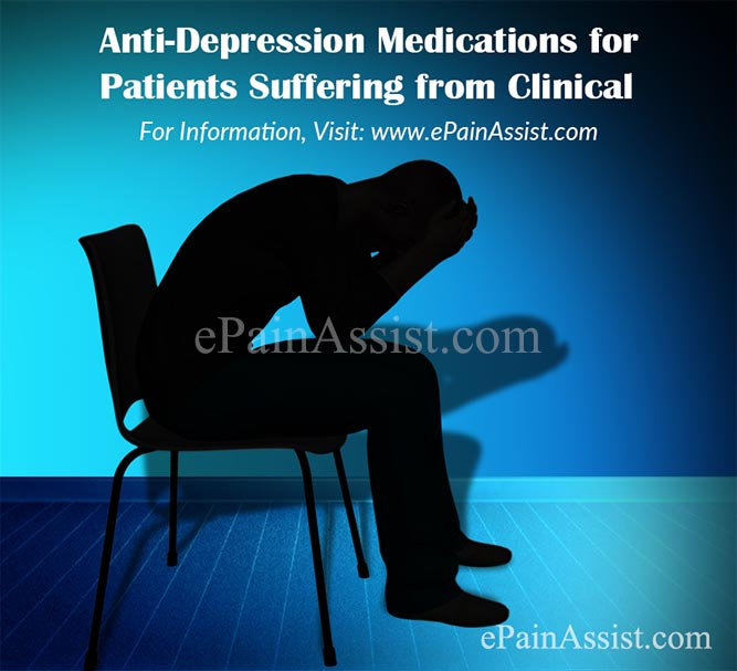 Anti-Depression Medications for Patients Suffering from Clinical