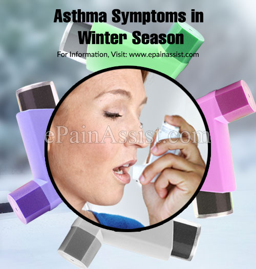 Asthma Symptoms in Winter Season