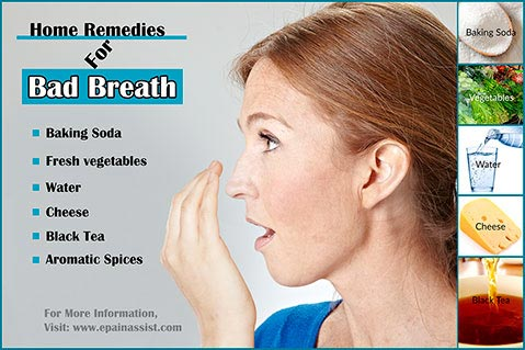 Home Remedies For Bad Breath!