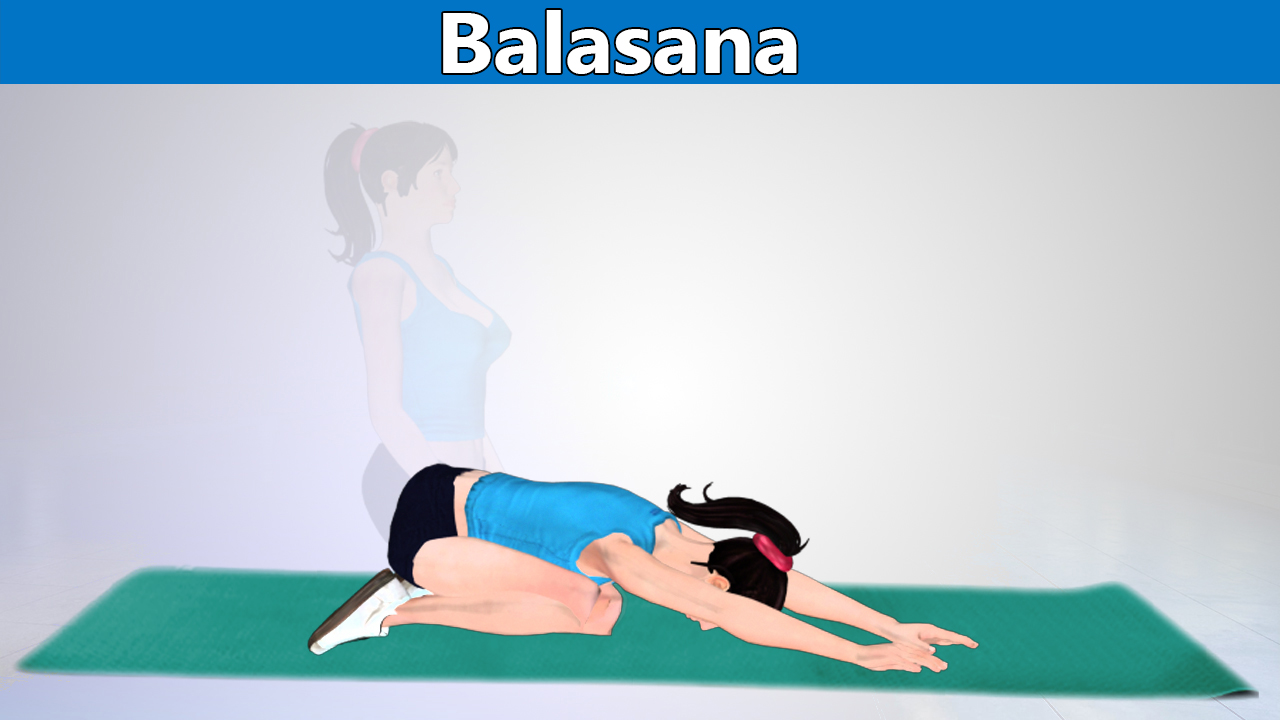 Balasana Helps Stretch Your Lower and Upper Back and Improves Flexibility of the Spine