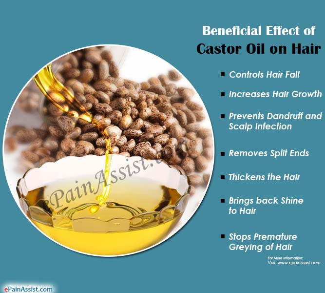Beneficial Effect of Castor Oil on Hair