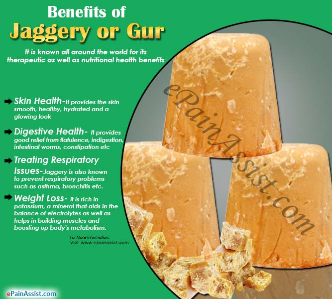 Benefits of Jaggery or Gur