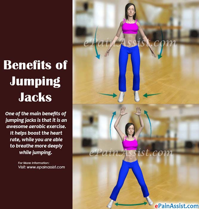 Jumping jacks advantages