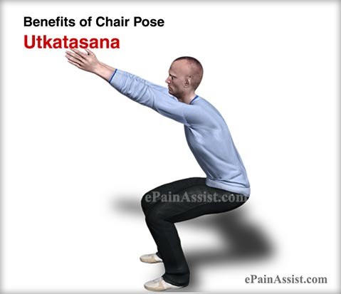 Yoga for Men – Benefits of Chair Pose or Utkatasana