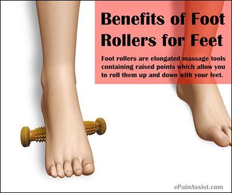 How Exactly Foot Rollers Benefits the Feet?