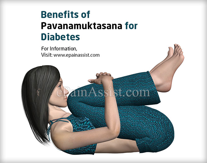 Benefits of Pavanamuktasana for Diabetes