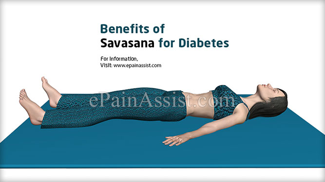 Benefits of Savasana for Diabetes