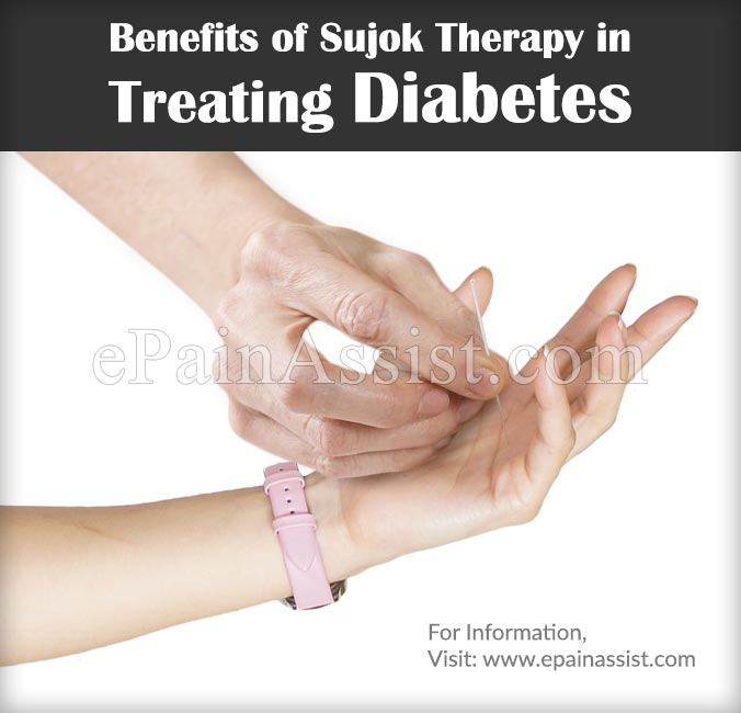 Benefits of Sujok Therapy in Treating Diabetes