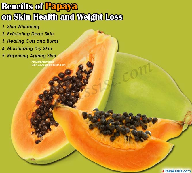 Benefits of Papaya on Skin Health and Weight Loss