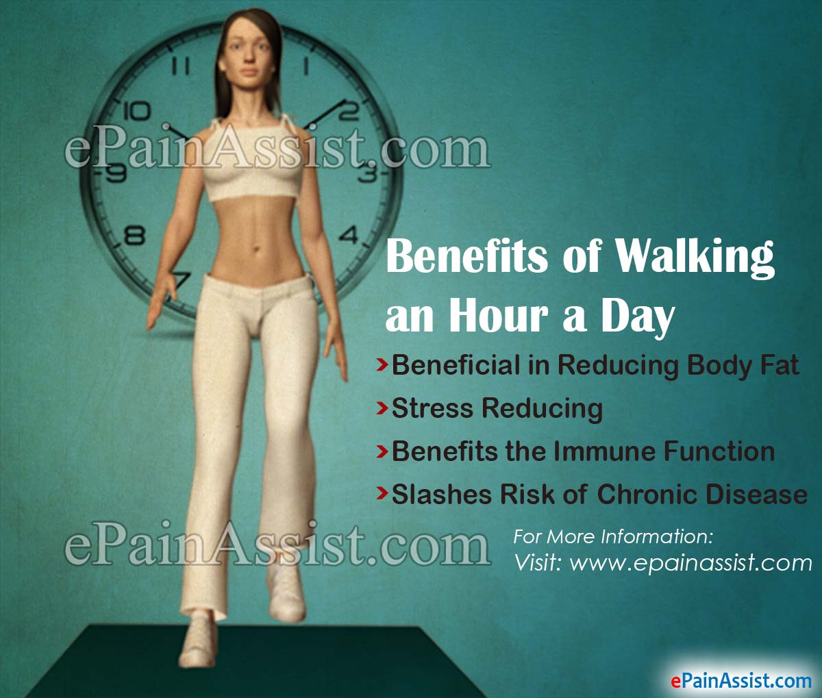 Benefits of Walking an Hour a Day