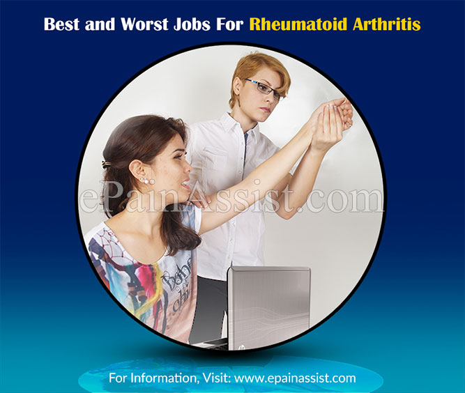 Best and Worst Jobs For Rheumatoid Arthritis