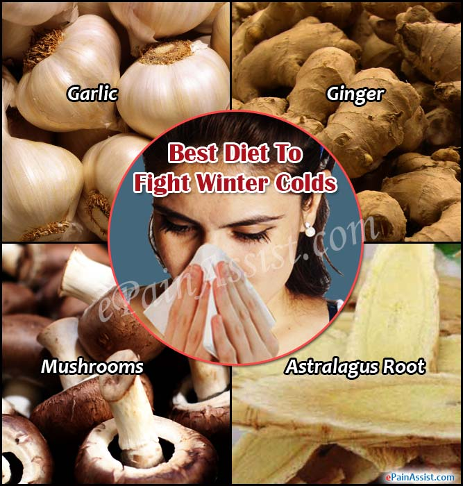 Best Diet To Fight Winter Colds