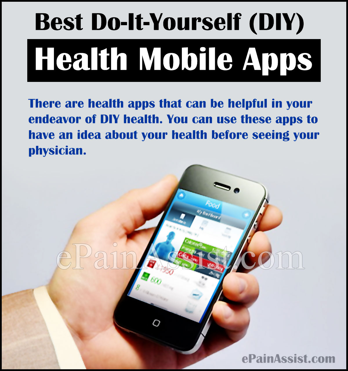 Best Do-It-Yourself (DIY) Health Mobile Apps