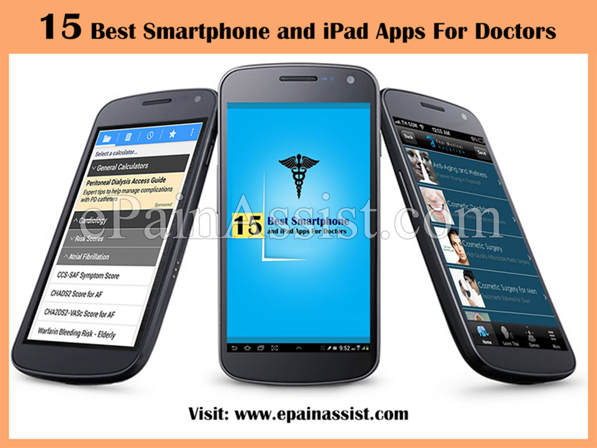 Best Smartphone and iPad Apps For Doctors