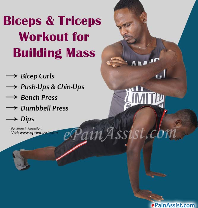Biceps & Triceps Workout for Building Mass
