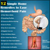 12 Simple Home Remedies to Ease Hemorrhoid Pain