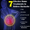 7 Effective Home Treatments to Relieve Backache