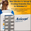 How Effective & Safe is Aricept in Treating Dementia Due to Alzheimer's?