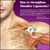 How to Strengthen Shoulder Ligaments?