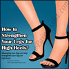 How to Strengthen Your Legs for High Heels?