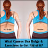 What Causes Bra Bulge & Exercises to Get Rid of it?