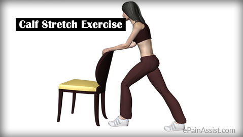 Calf Stretch Exercise for Articular Cartilage Injury