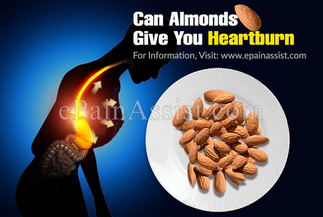 Can Almonds Give You Heartburn?