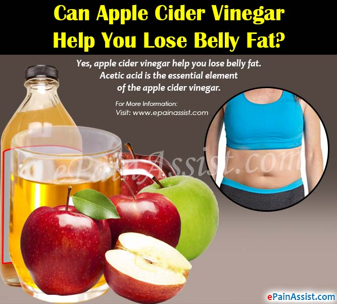 Can Apple Cider Vinegar Help You Lose Belly Fat?