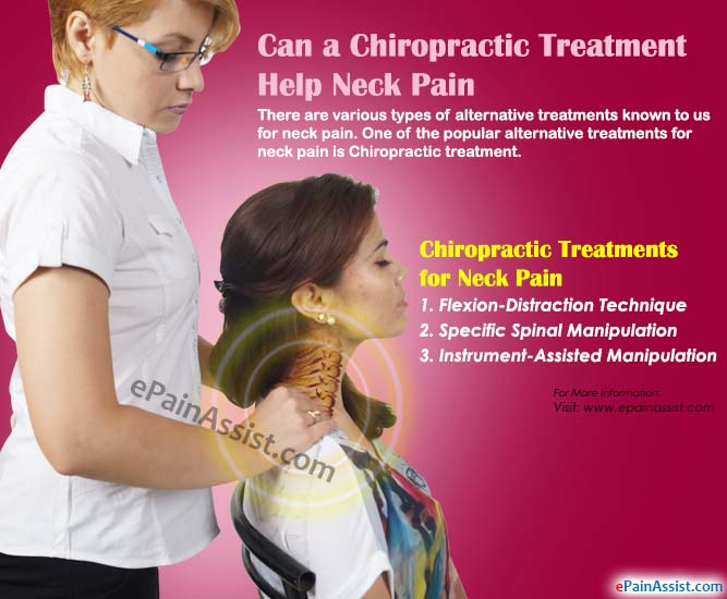 Chiropractic Treatments for Neck Pain