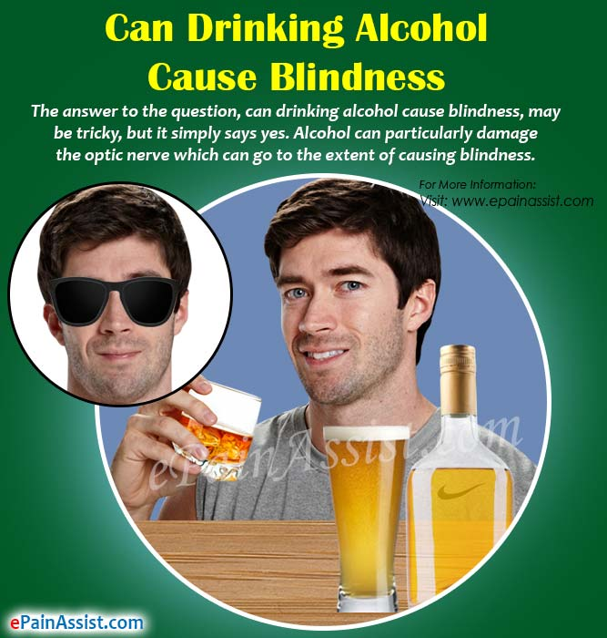 Can Drinking Alcohol Cause Blindness?