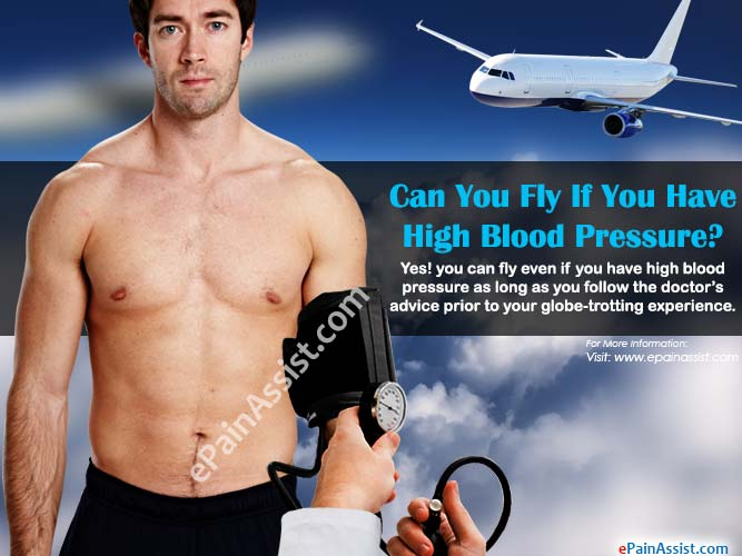 Can You Fly If You Have High Blood Pressure?