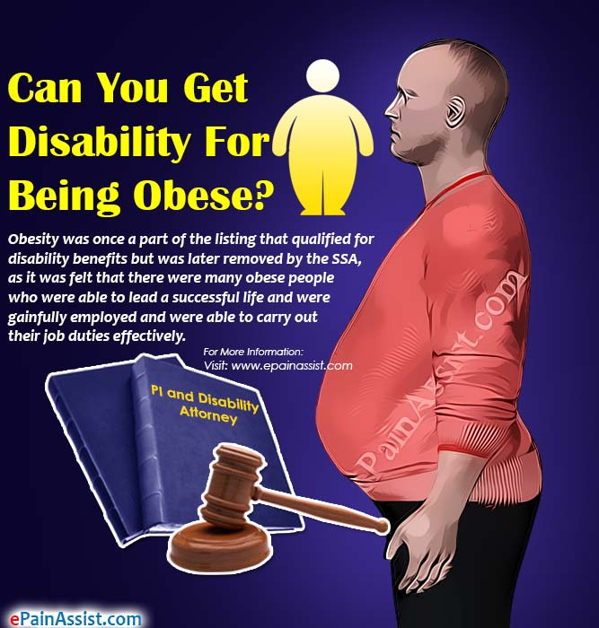Can You Get Disability For Being Obese?