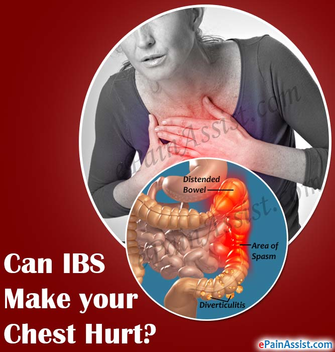 Can IBS Make your Chest Hurt?