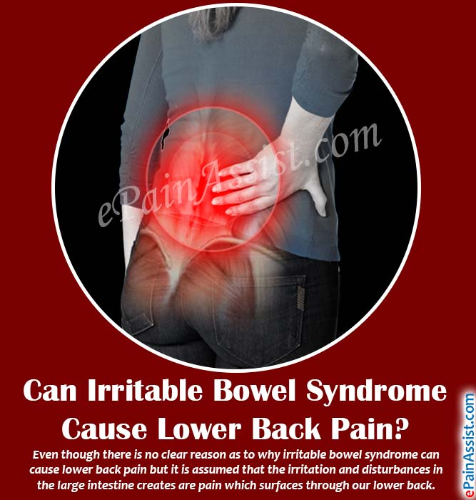 Can Irritable Bowel Syndrome Cause Lower Back PainTreatment For IBS - Ibs paint