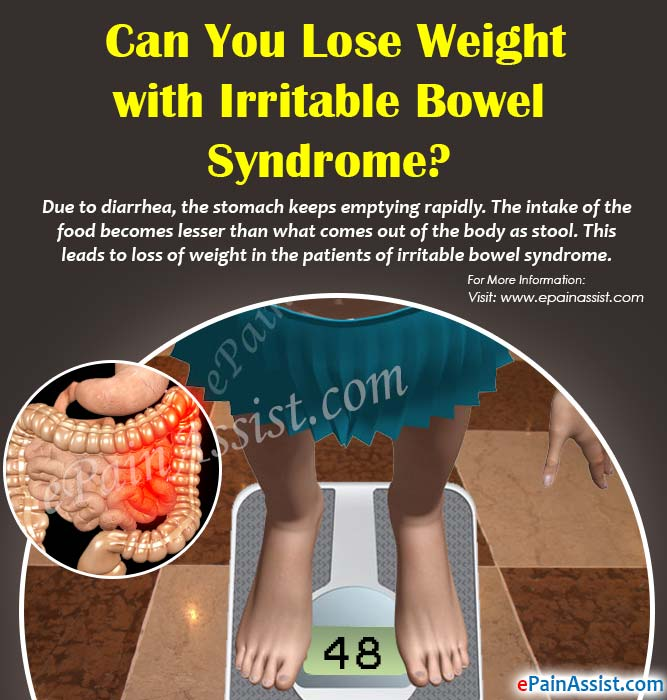 Can You Lose Weight with Irritable Bowel Syndrome?