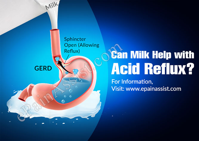 Can Milk Help with Acid Reflux?
