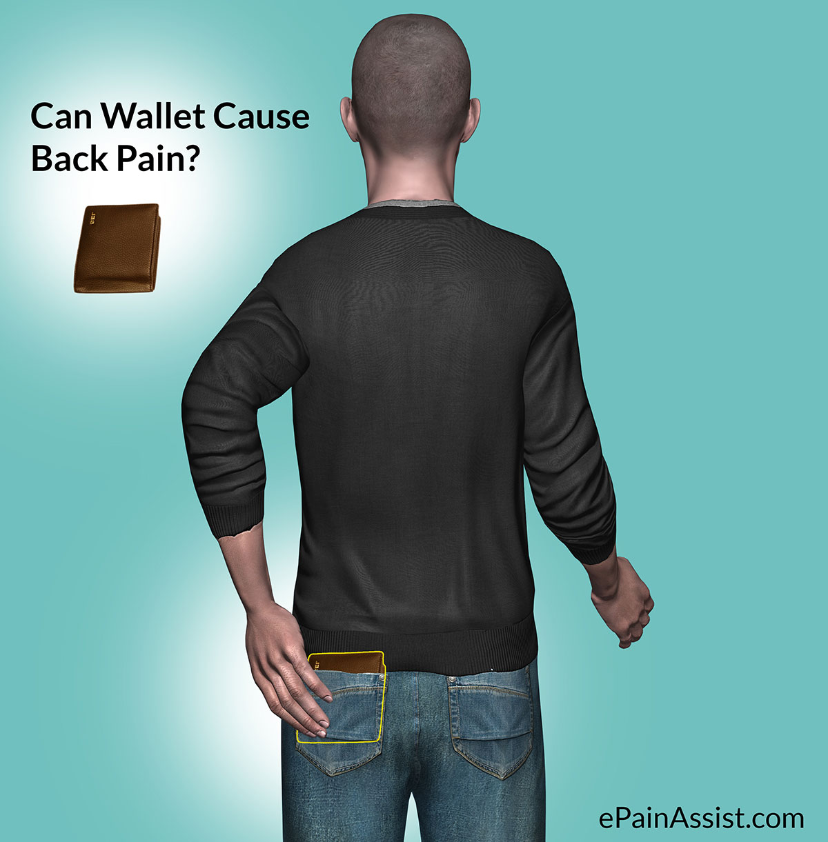 Can Wallet Cause Back Pain?