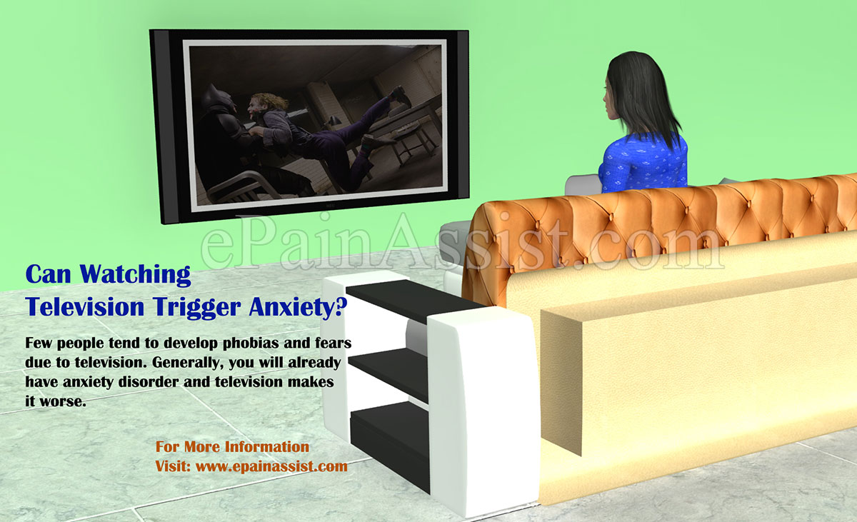 Can Watching Television Trigger Anxiety?