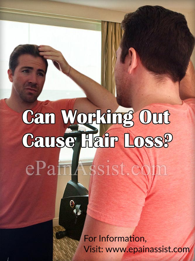 Can Working Out Really Cause Hair Loss?