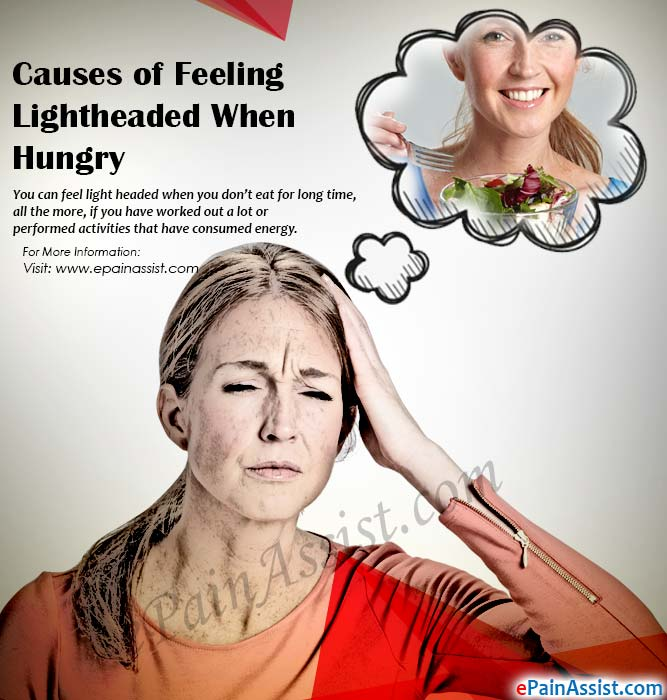 Causes of Feeling Lightheaded When Hungry
