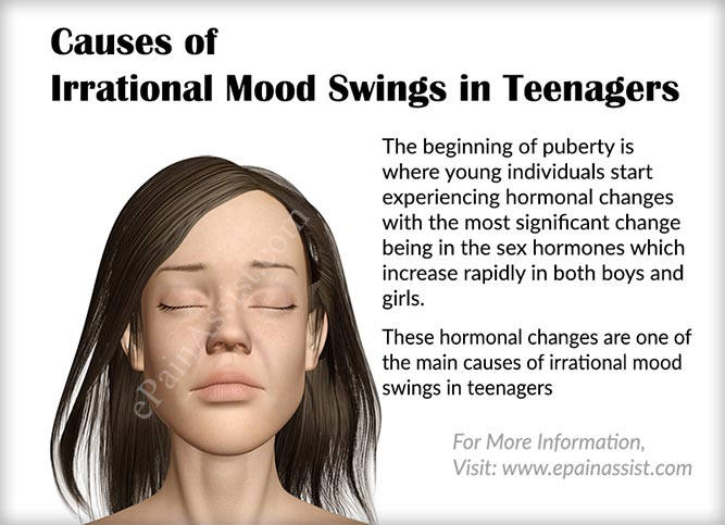 Causes of Irrational Mood Swings in Teenagers