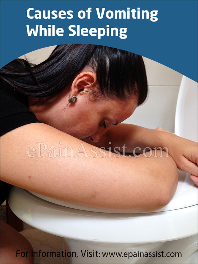 Causes of Vomiting While Sleeping