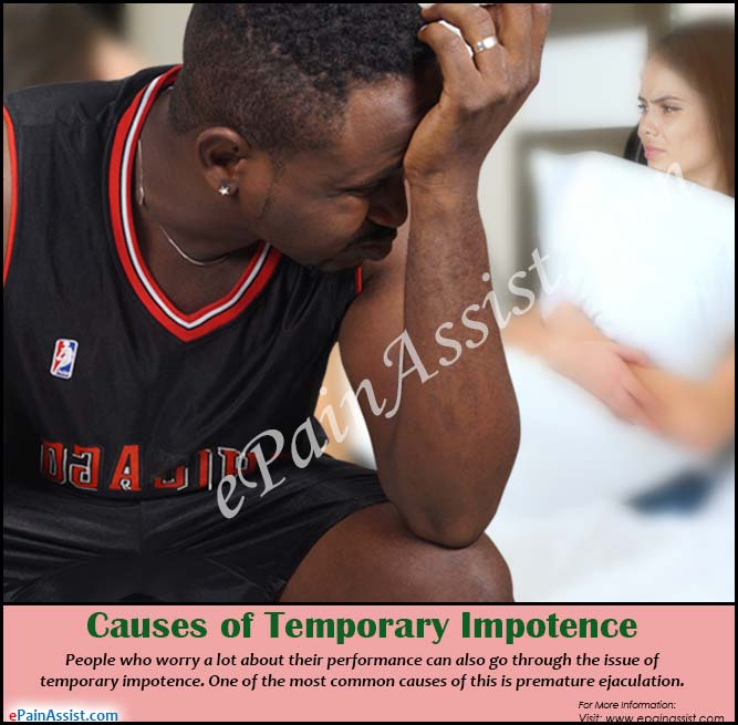 Causes of Temporary Impotence