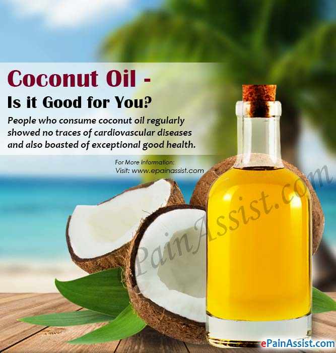 Coconut Oil - Is it Good for You?