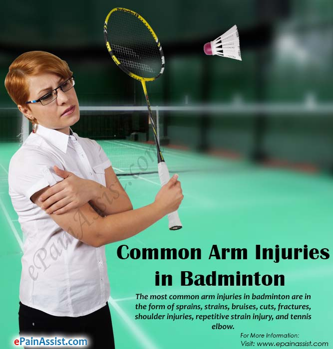 Common Arm Injuries in Badminton
