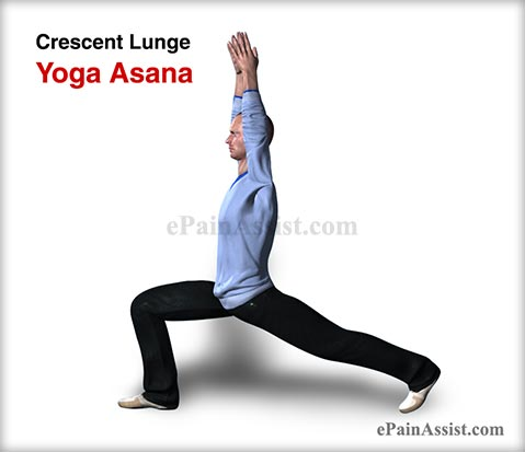 Crescent Lunge Yoga Asana and its Benefits for Men